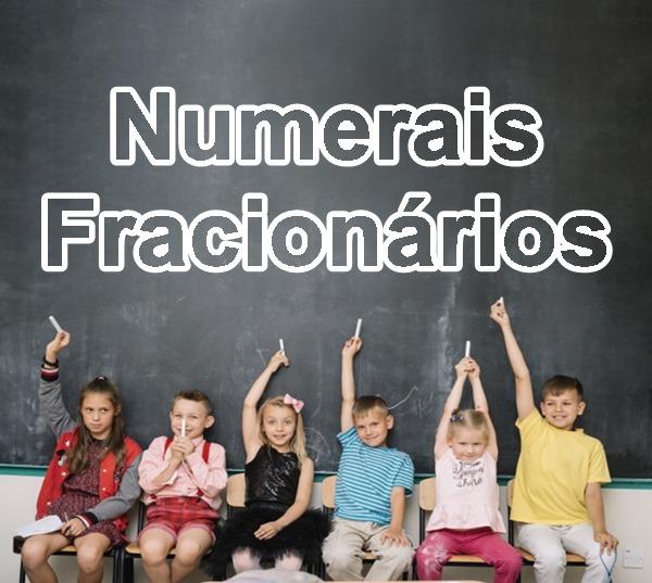 numerais fracionários